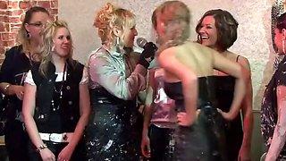 Amazing Lesbian Mud Fight