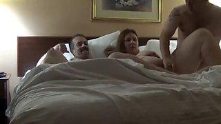 Hotel wife threesome