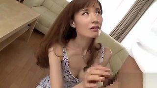 MILF teaches boi the Taste of a Woman