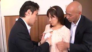 Best Japanese girl Ai Komori in Amazing Secretary JAV movie