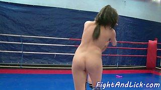 Wrestling lezzie queening european sweetie