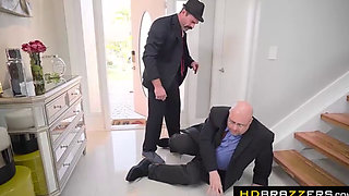 HDBrazzers.com - The Don Whacks My Wife's Ass Starring Monique Alexander