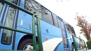 Hottest amateur Bus, Public adult clip