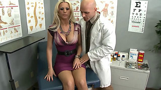 Sexy Blonde Boobed Fuck in Hospital - Tanya James