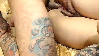 Brutal mexican fucks his stepmother in anal and shoots closeups