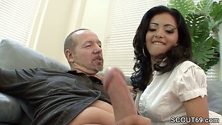 Hot MILF want his Monster Cock and Seduce him to Fuck