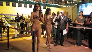 Nude Fashion Weekin The Pub Micro Bikini Full Final 8