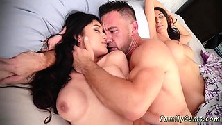 Mom partner's daughter kitchen seduction Family Shares A