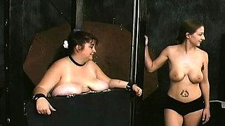 Lascivious woman extreme servitude