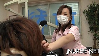 nurse sucks before fucking asian feature 4