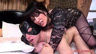 HolyBitches - Mistress Fucks Her Slave's Butt