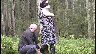 Jj plush led in forest