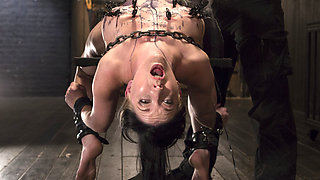 Nerine Mechanique in Extreme Torment, Brutal Device Bondage, And Screaming Orgasms - DeviceBondage