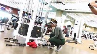 Best ass at gym ever
