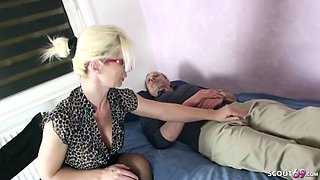 German mom psychologist seduce monster cock patient to fuck