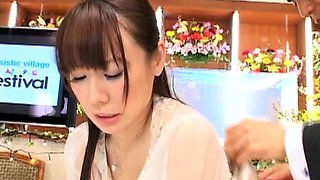 Slutty Japanese wives express their love for hardcore sex