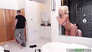 Giantess alura jenson makes young housemaid jenna j ross her slave