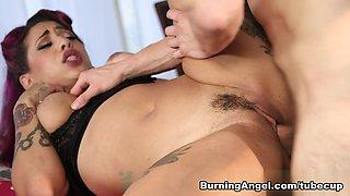 Fabulous pornstars Veronica Rose, Erik Everhard in Best Big Tits, Latina sex video