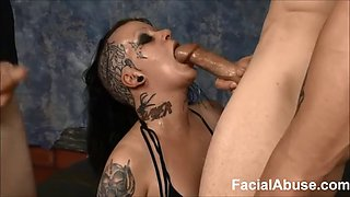 (new) extreme face fucking and dp for mallory maneater round 2