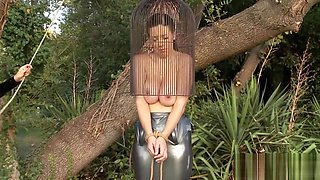 Two busty sluts have some BDSM fun