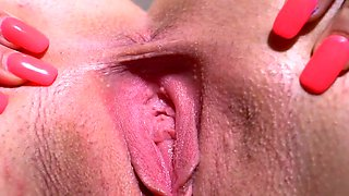 Kinky czech girl opens up her wet vagina to the special11cde