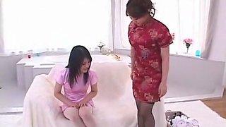 Hottest Japanese slut Io Asuka in Exotic Cunnilingus, Lesbian/Rezubian JAV movie