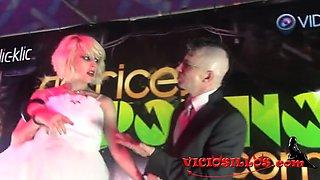 Nora Barcelona y Ratpenat wedding in SEB by Viciosillos.com