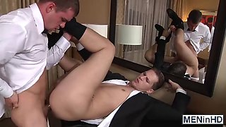 todd roman gets his ass ravaged by Darin on her wedding day