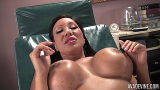 Daniella Foxx and another checking their clits and getting fucked