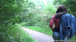 hot fun in public with naughty slutwife