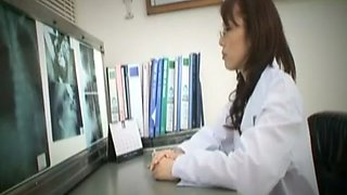 Fabulous Japanese chick in Incredible MILF, Nurse JAV clip