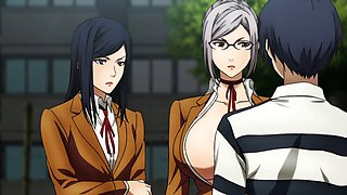 Prison school (kangoku gakuen) anime uncensored #6 (2015)