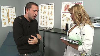 Medical examination performed by busty Shyla Stylez is worth seeing