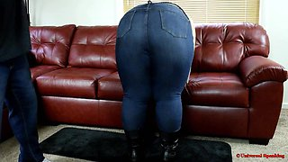 A Well Rounded Spanking!