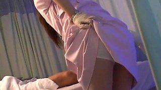 Fabulous Japanese girl Hinata Komine, Luna Kanzaki, Nozomi Osawa in Hottest Nurse, Handjobs JAV clip