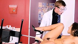 Doc Uses Dildo Machine On Patient Abella Danger