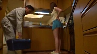 Best Japanese girl Momoka Nishina in Fabulous Kitchen JAV clip