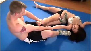 Sumiko mixed wrestling