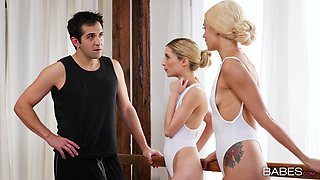 Elsa Jean & Piper Perri in Let's Dance - BabesNetwork