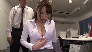 Fabulous Japanese girl in Crazy Secretary, Big Tits JAV scene