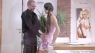 Rita finds out her tricky old teacher has a thing for her like she has for him