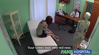 Innocent red head gets a creampie prescription preview