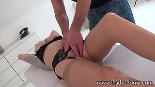 Bondage And Forced Orgasms With A Stranger - LadySonia