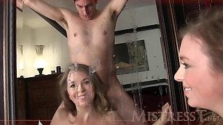 Mistress T Massive Cum Shot