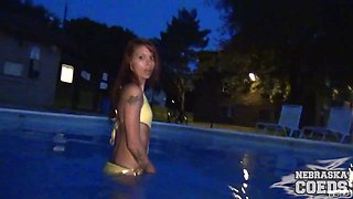 Kay Young Stripper Lives Next Door Masturbating In Public Pool Des Moines Iowa - NebraskaCoeds