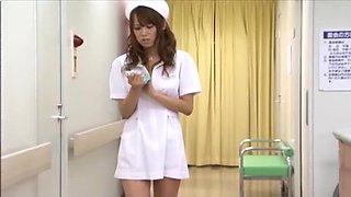 Incredible Japanese slut Akina in Hottest Handjobs, Nurse JAV video