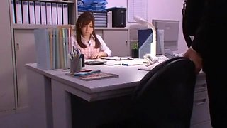Exotic Japanese chick Saki Mishima in Fabulous Small Tits, Office JAV movie