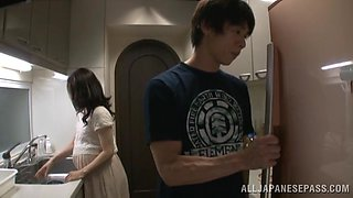 Yummy Marina Matsumo Gets Fucked Hard In The Kitchen