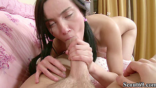 Big Dick Step Brother Seduces Virgin Step Sister to Fuck
