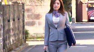 Best Japanese whore Ai Haneda in Crazy Blowjob/Fera, Femdom JAV video